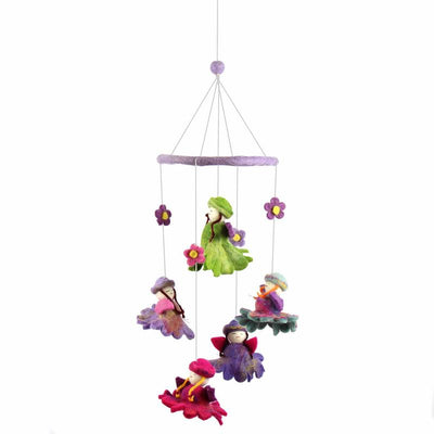 Flower Fairies Felt Nursery Mobile