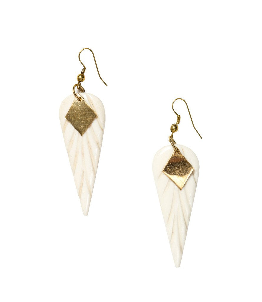 Anika Earrings Wings