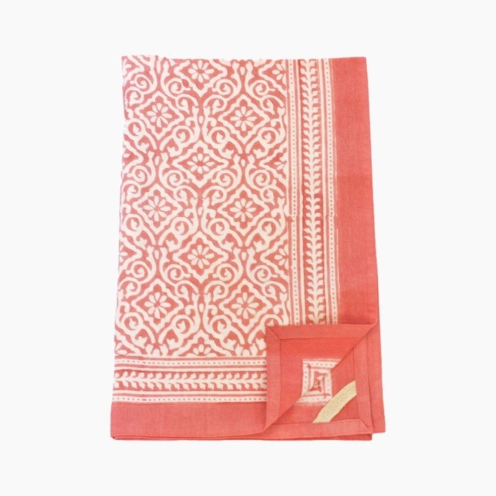 Kitchen Towel Jaipur Coral