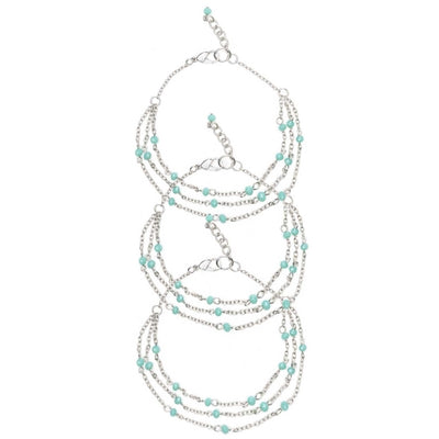 Cheyenne Anklets -  Set of 3