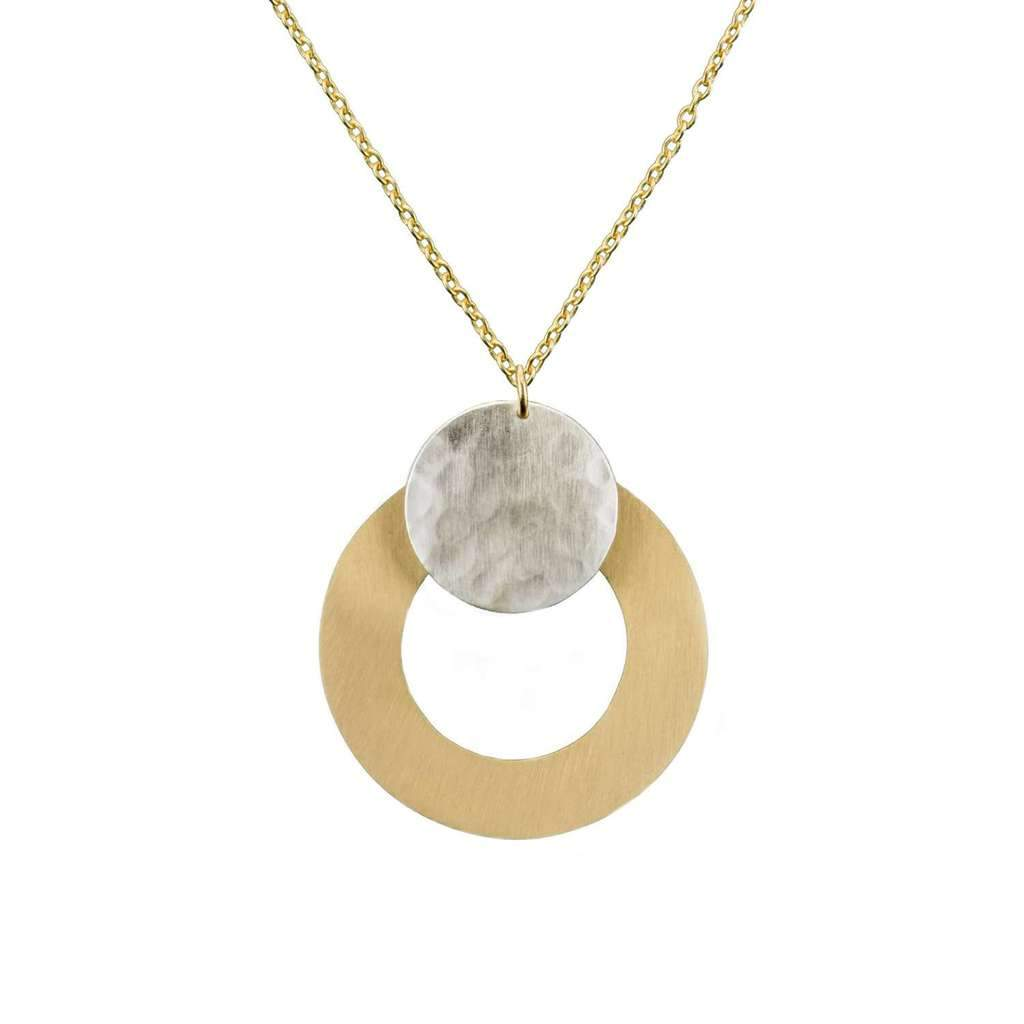 Vitana Necklace - Deco Disc