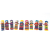 2-Inch Assorted Worry Dolls - Set of 10