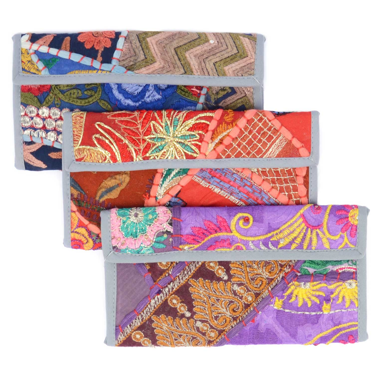 Color Splash Wallet Assorted - Sold Individually