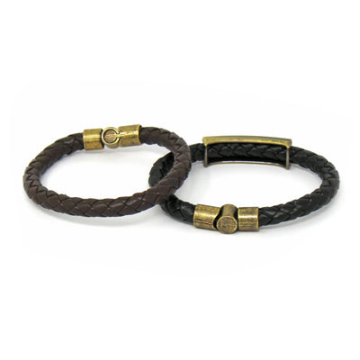 Brown Leather Bracelet, Unisex