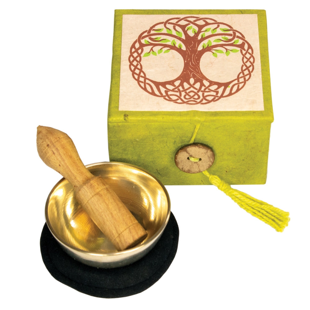 Mini Meditation Bowl Box Tree of Life