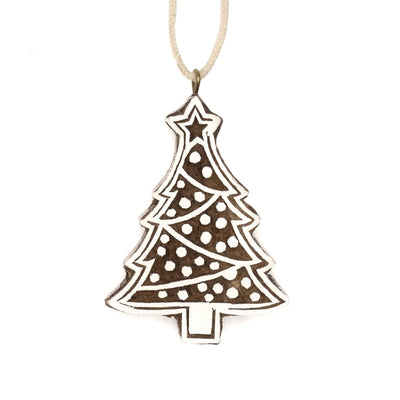 Hima Bindu Ornament - Christmas Tree