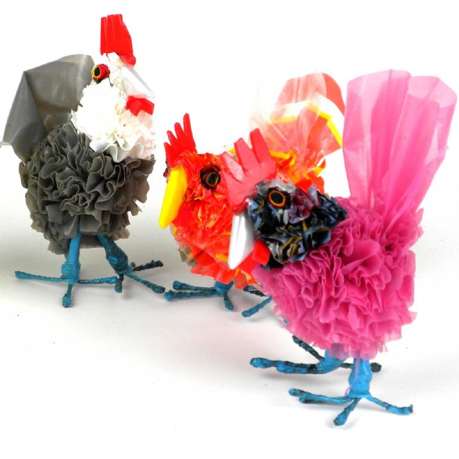 Recycled Plastic Mini Baby Chicken