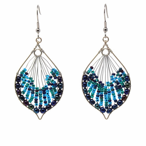 Cleo Earring - Blues