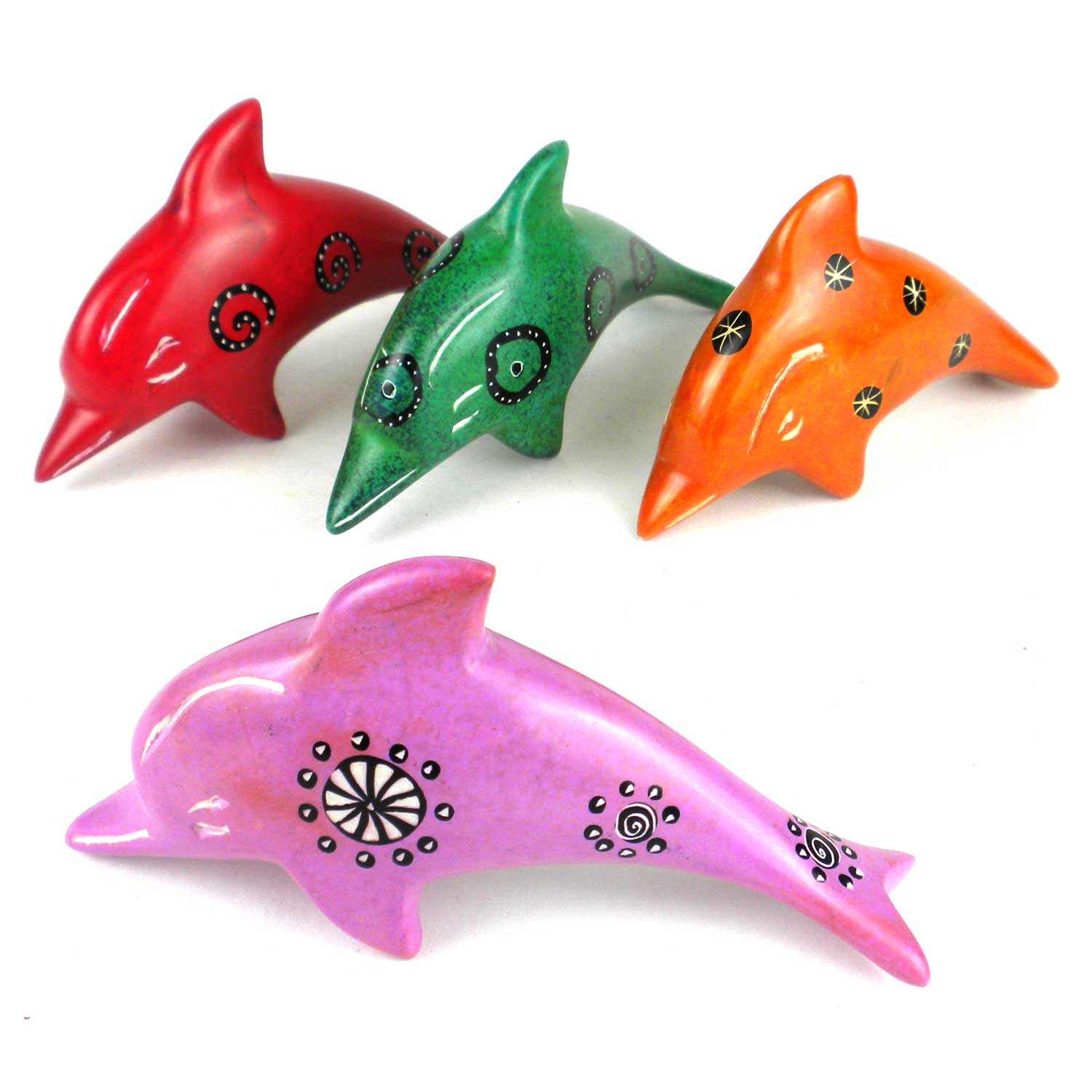 Soapstone Dolphins - Assorted Our Choice Sizes and Colors