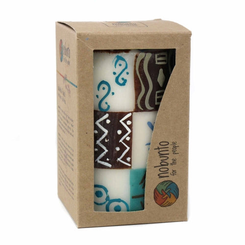Hand Painted Candle - Single in Box - Maji Design