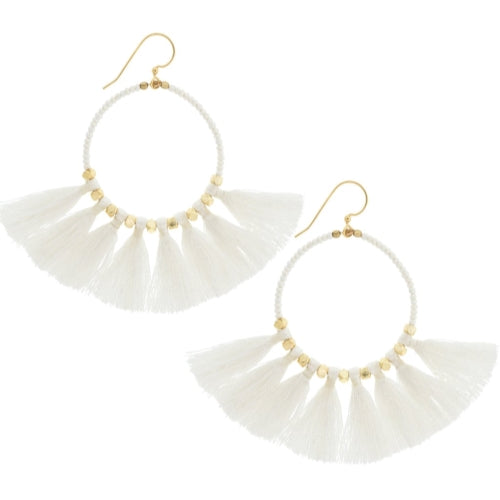The Dreamer Earring, Cream