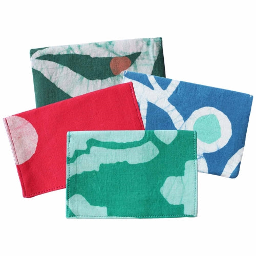 Batiked Pocket Wallet - Assorted