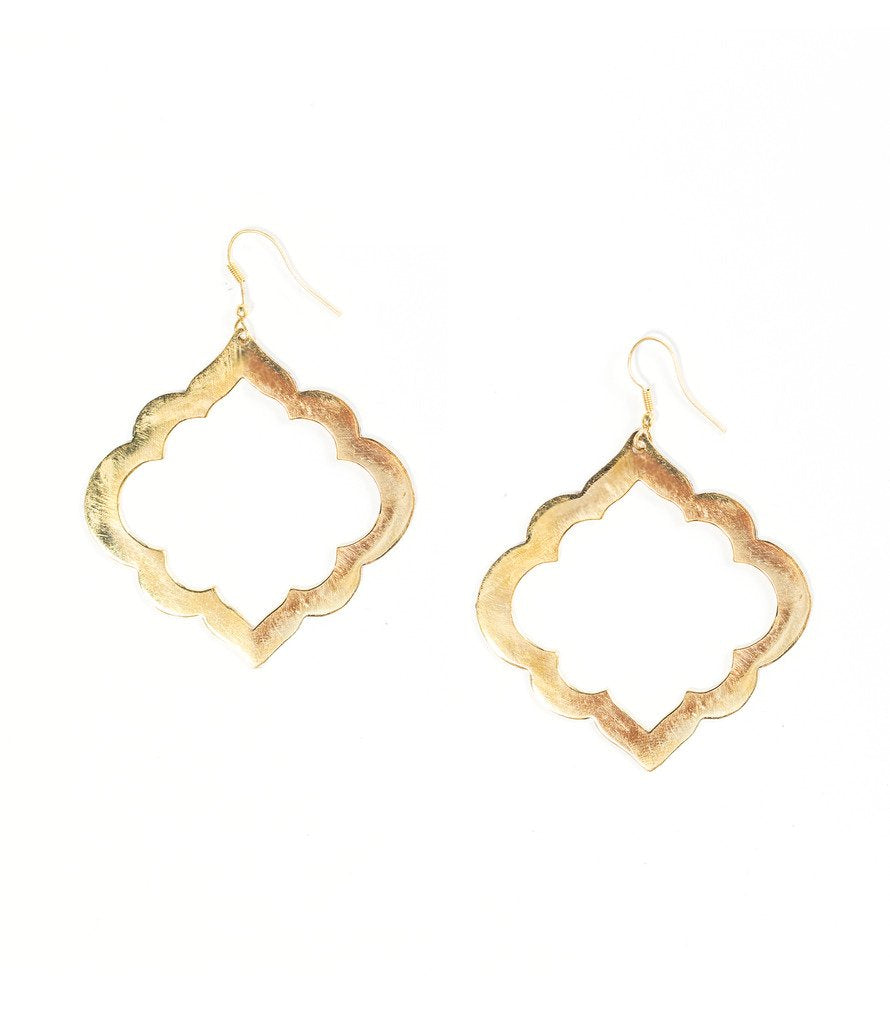 Ashram Window Earrings