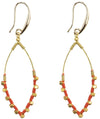 Earrings: Jane Tangerine