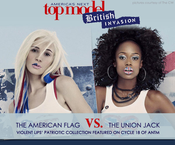 Violent Lips Patriotic Lips on ANTM Cycle 18