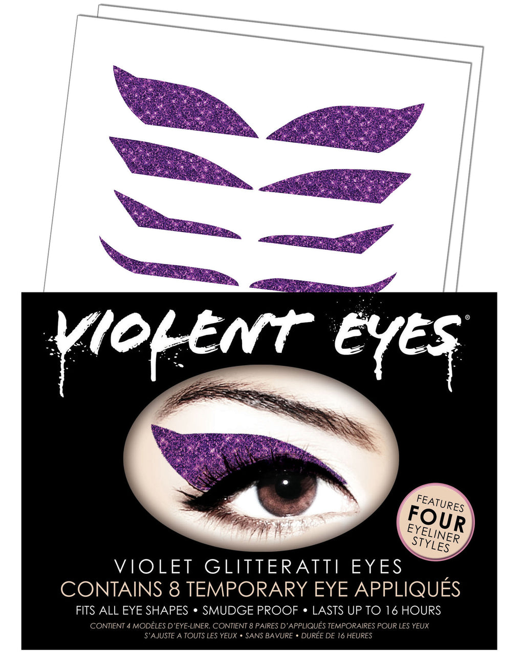 Violent Eyes - Violet Glitteratti