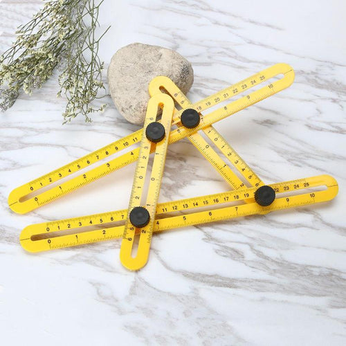 Instrument Four-Sided Ruler Measuring Tool