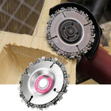 "Load image into Gallery viewer, 4"" Grinder Disk w/ Chainsaw Teeth"