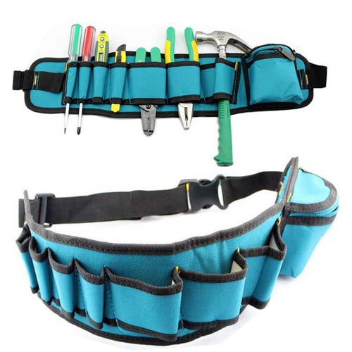 Multi-Pockets Tool Belt Carpenter hammer, Electrician tool belt.