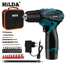 Load image into Gallery viewer, Drill Cordless Screwdriver Power Tools