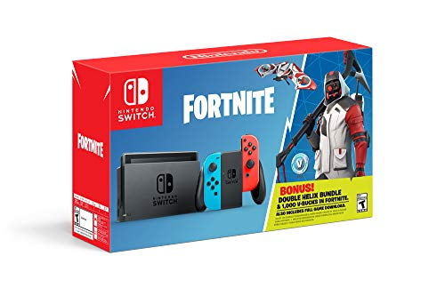 Nintendo Switch: Fortnite - Double Helix Console Bundle - Switch - Name Your Joy
