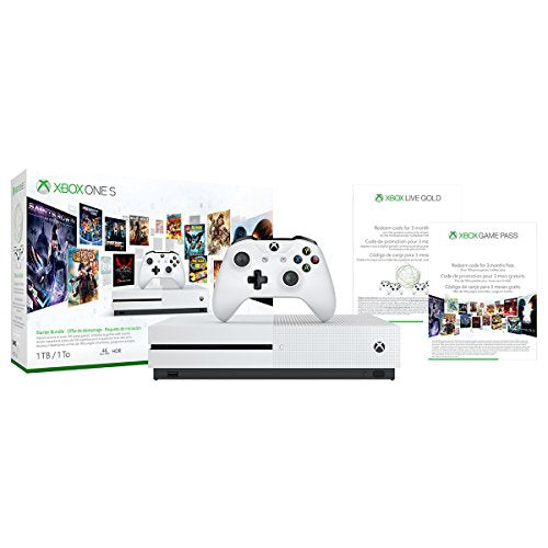 Xbox One S 1TB Console - Starter Bundle - Name Your Joy