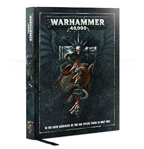 40K 8th Edition Rule Book GW Games Workshop - Name Your Joy