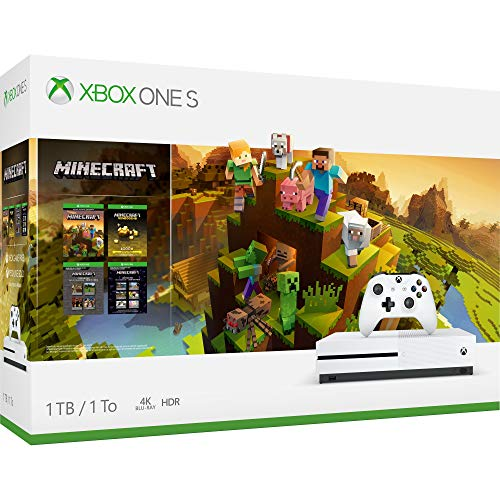 Xbox One S 1TB Console - Minecraft Creators Bundle - Name Your Joy