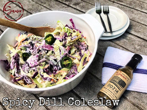 Spicy Dill Coleslaw
