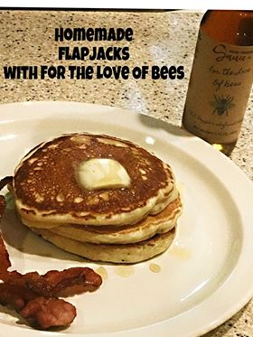 Homemade Flapjacks with For The Love of The Bees