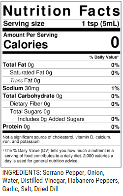 DD214 Nutrition Facts & Ingredients