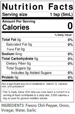 Kickstand Nutrition Facts & Ingredients