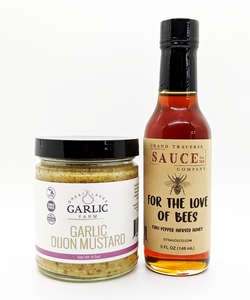 Discount Pack: Spicy Honey and Garlic Mustard