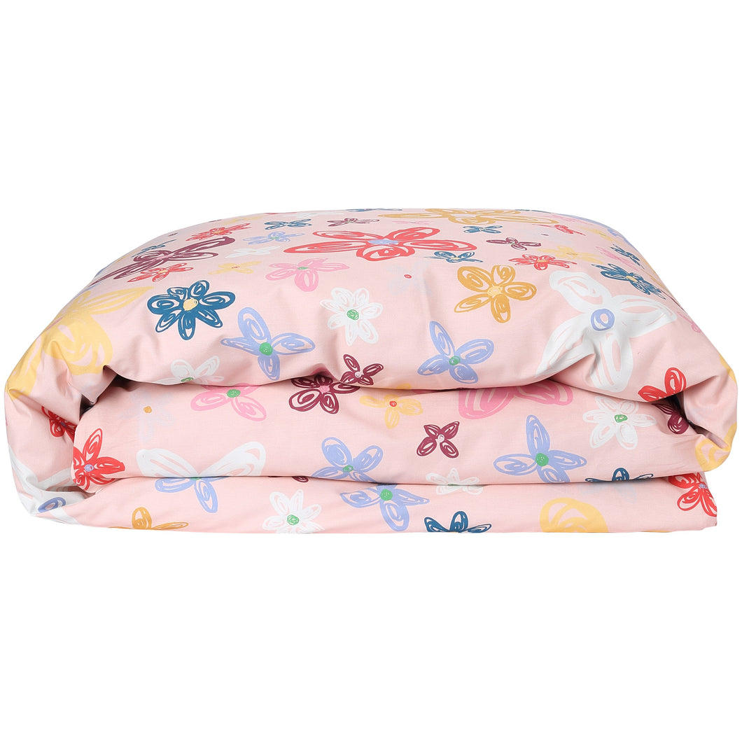 PANSY COTTON QUILT COVER single