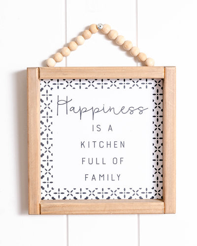 Sign - Kitchen Happiness - 20x25