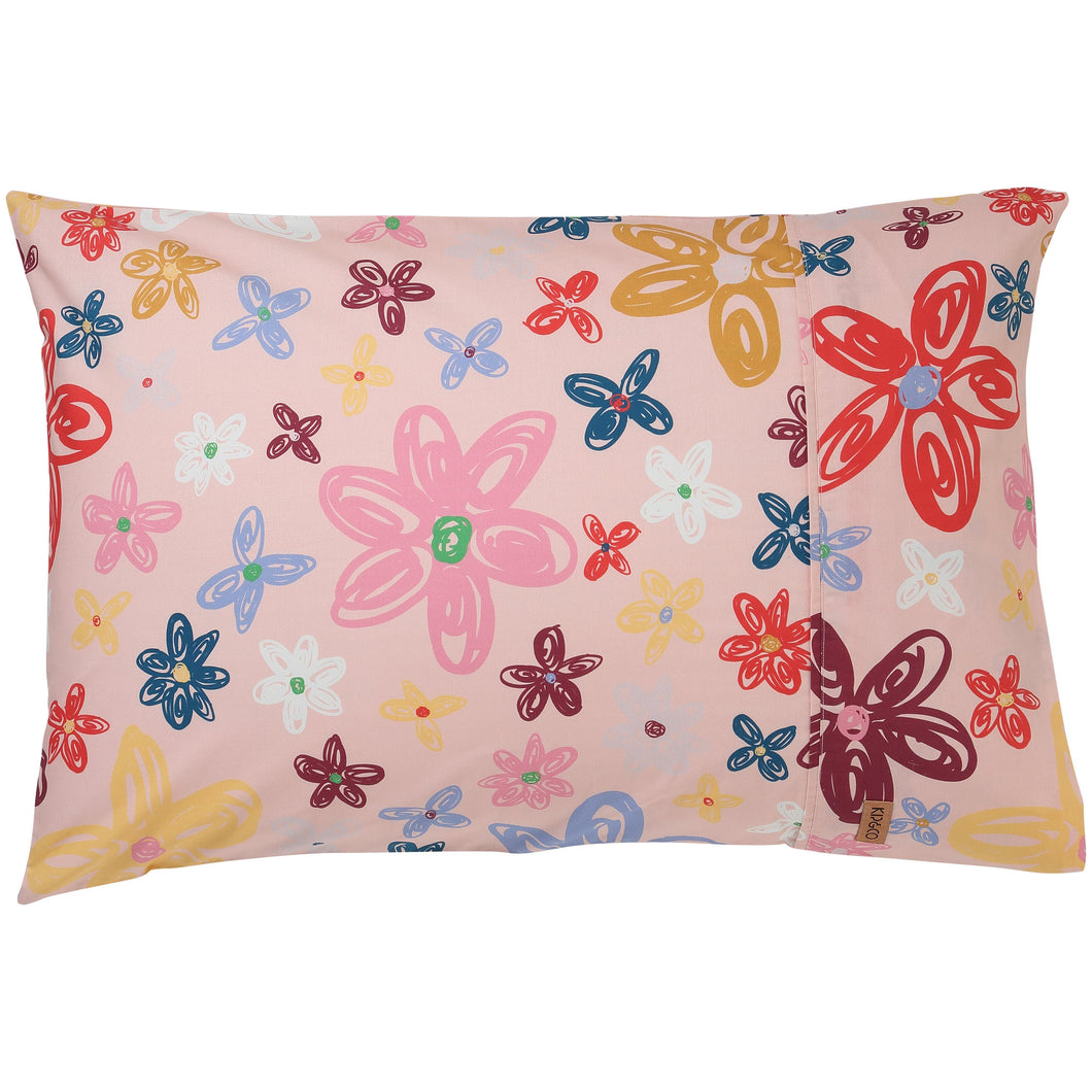 PANSY COTTON PILLOWCASES