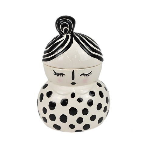 Gertie Ceramic Trinket Box