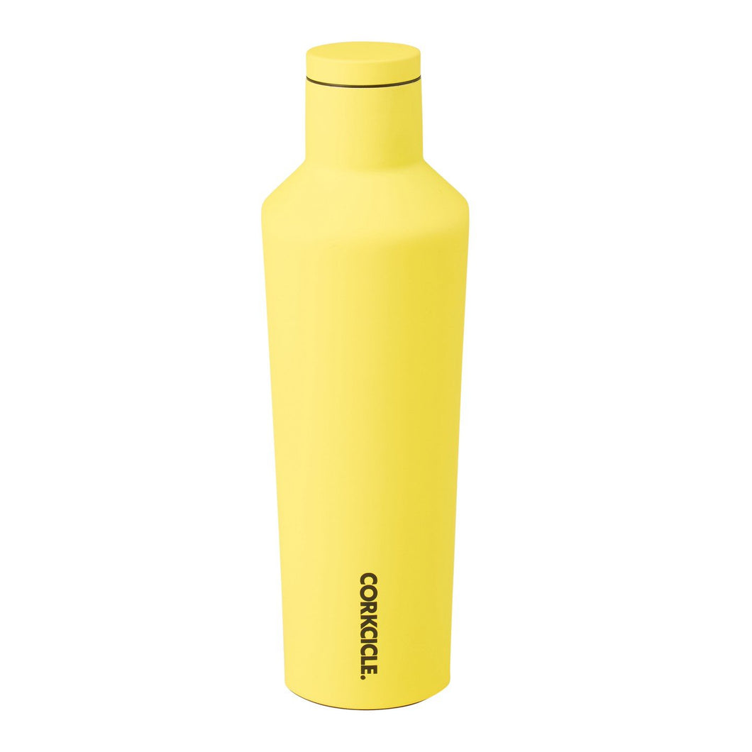 25oz Canteen Neon Yellow