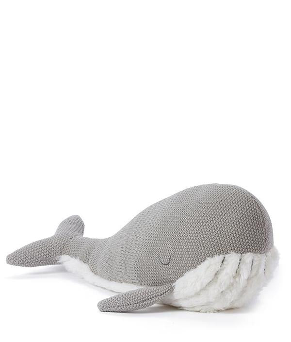 whale soft toy large