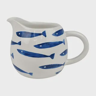 Skool Ceramic Jug 15x10cm Fish