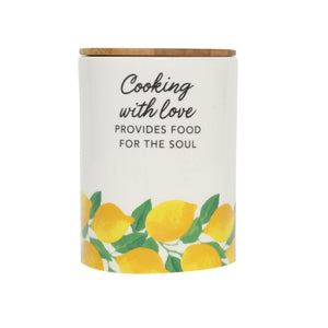 Capri Kitchen Cooking Canister Large