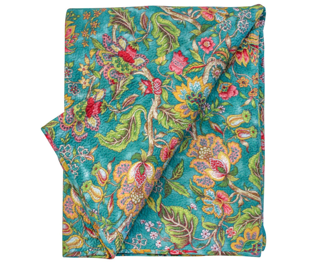 Quilted Throw Spring Fling