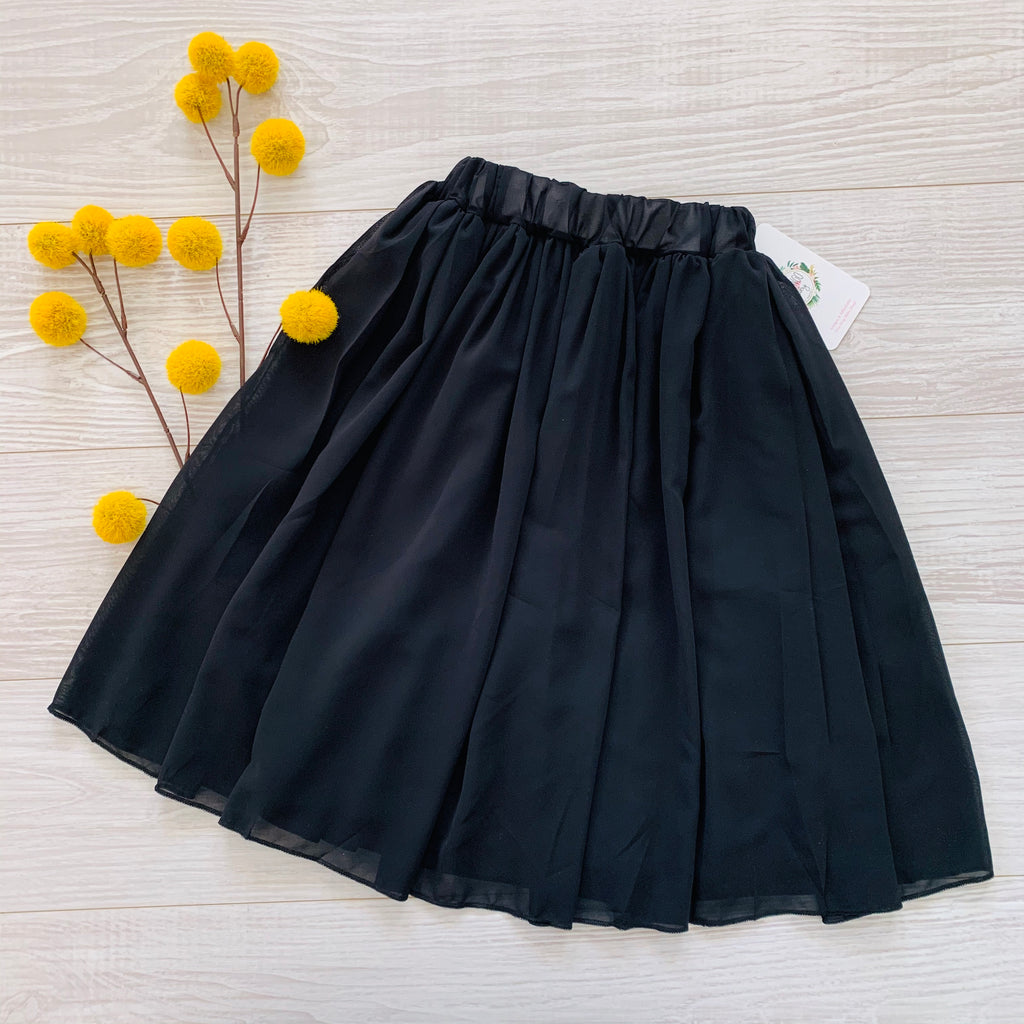 Lina Maxi Skirt - Black