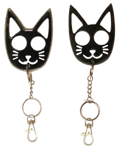SELF DEFENSE PXSSY KEYCHAINS