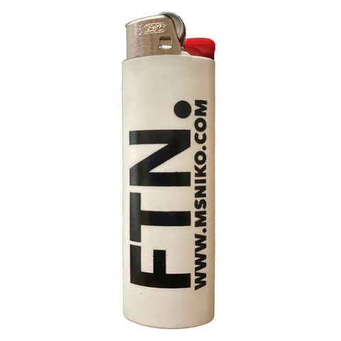 "MS. NIKO'S ""FTN"" BIC LIGHTERS"