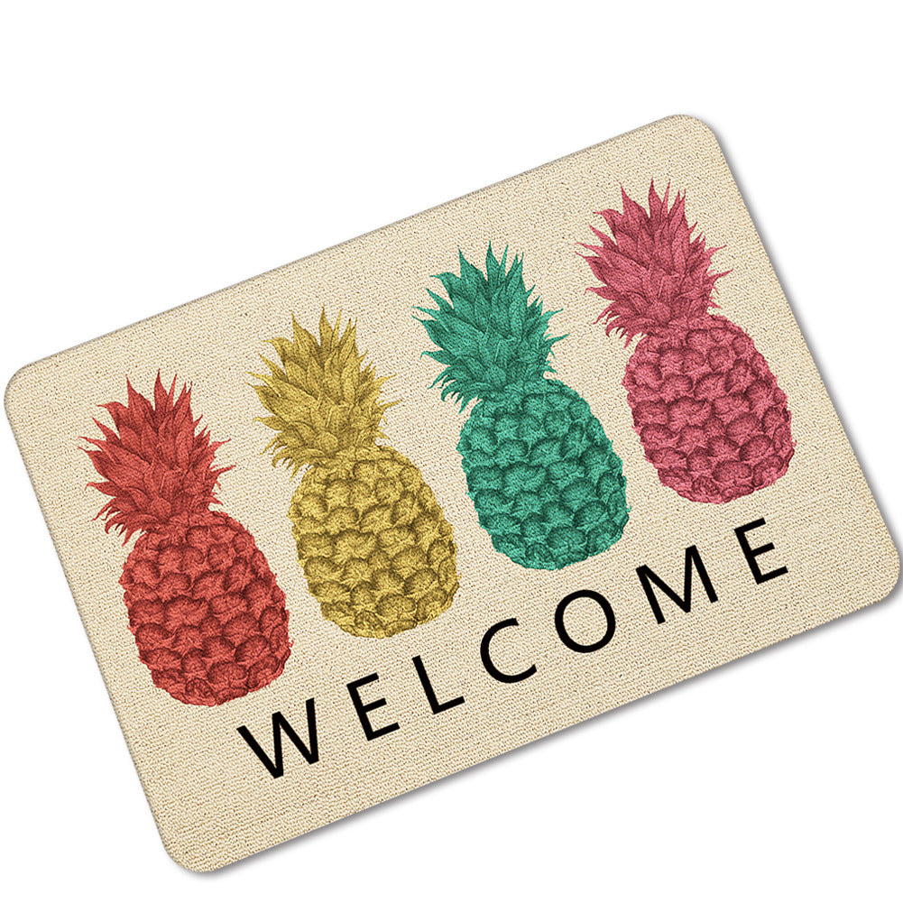 Fruit Doormat Pineapple & Watermelon