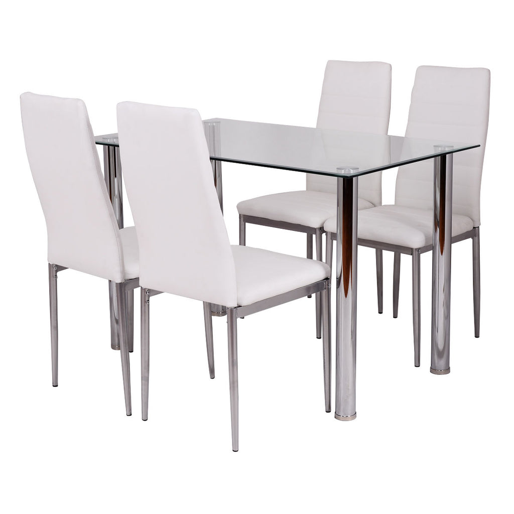 5 pcs Dining Set with a Simple Design