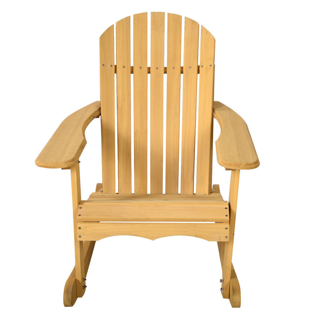 Outdoor Adirondack Rocking Chair Garden Furniture