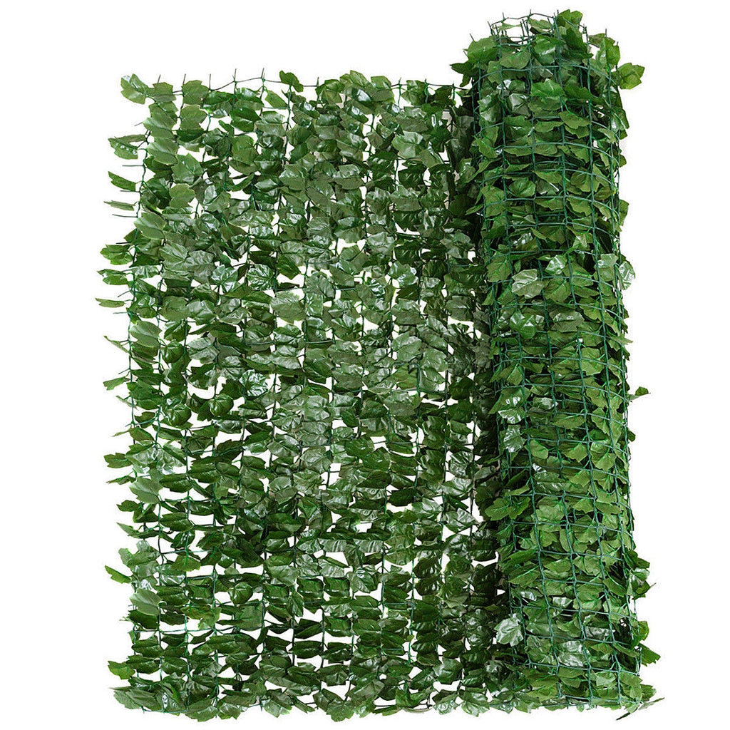 "Faux Ivy Leaf Decorative Privacy Fence-59"" x 95"""