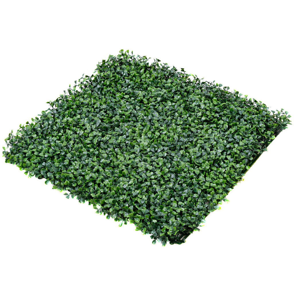"20"" x 20"" 12 Artificial Hedge Plant Privacy Decorative Wall"